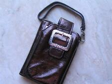 """~Brighton Cell Case """"Pebble"""" w Wallet Multi Pouch iPod/iPhone/Camera/Cell!~"""