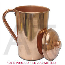 Copper Water Pot Jug storage Bottle Ayurveda Health Benefit copper vessel 1.5L