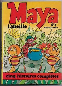 Maya l'abeille Numéro 4 - cinq histoires complètes