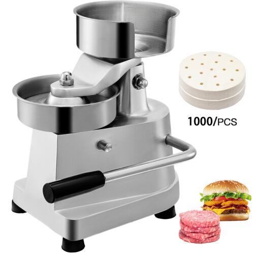 Burger Press Patty Maker Hamburger Stick BBQ Mold Stuffed Meat Grill Slider Tool