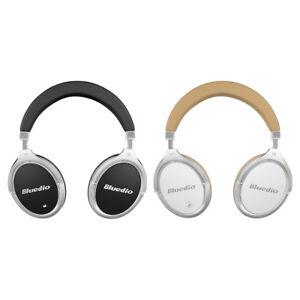 New Bluedio F2 Active Noise Cancelling Wireless Bluetooth HiFi Headphone Headset