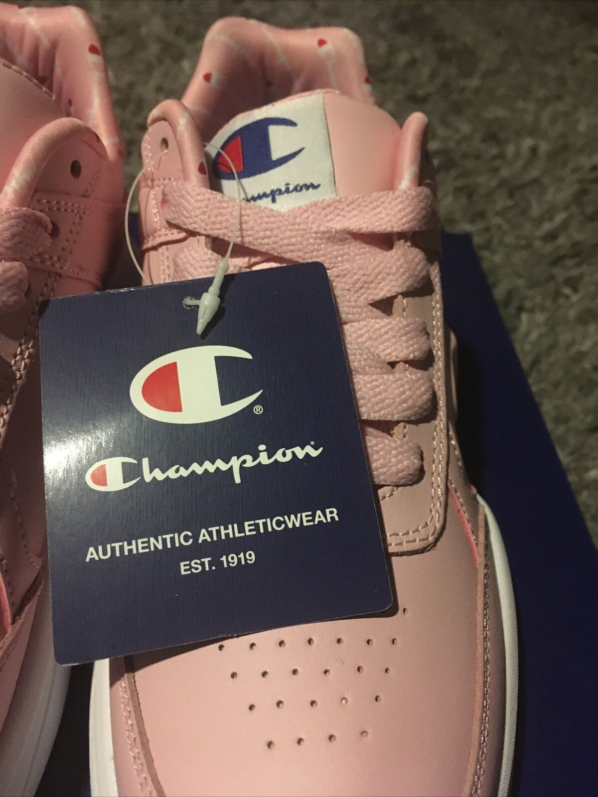 New Womens Champion Next Emboss Casual Athletic Sneakers Pink Size 6.5 CP101226W