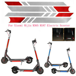Para-Xiaomi-Mijia-M365-M187-Electric-Scooter-Safety-Reflective-PVC-Sticker-Decor