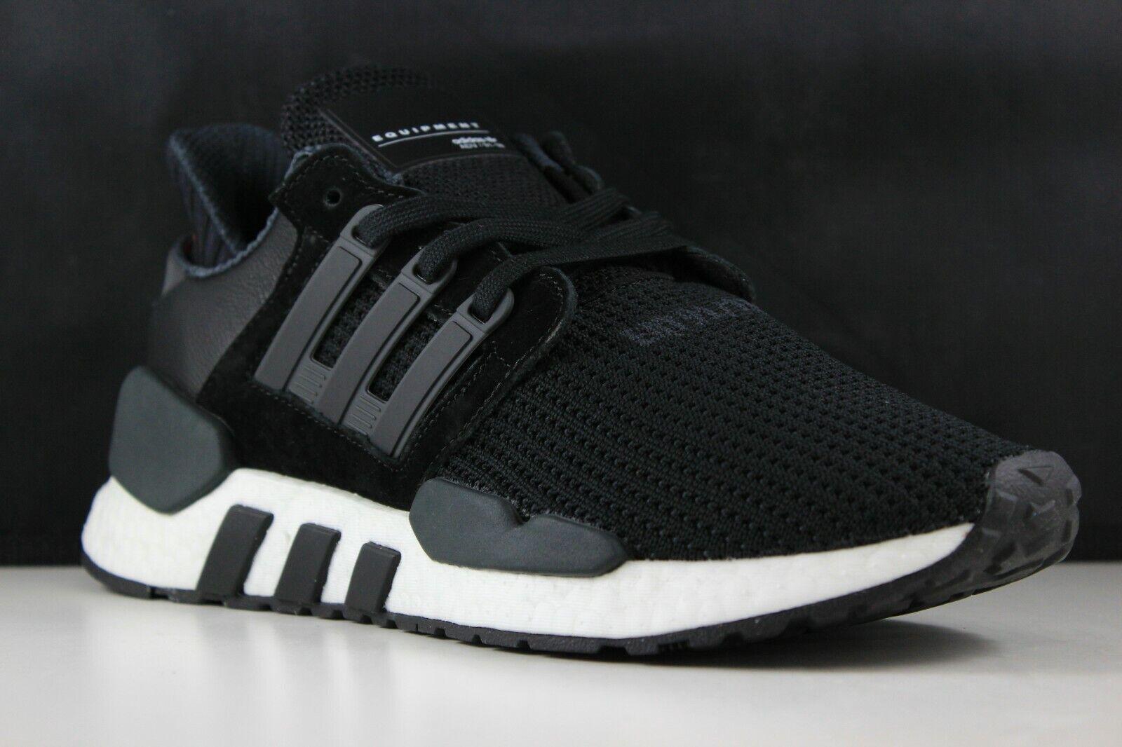 Adidas EQT Soporte 91 18 Talla 9 para hombre Negro Negro blancoo B37520
