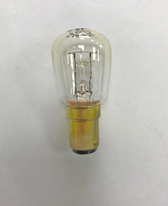 Marca Ge 15w 240v SBC B15 lámparas de señal clara enano