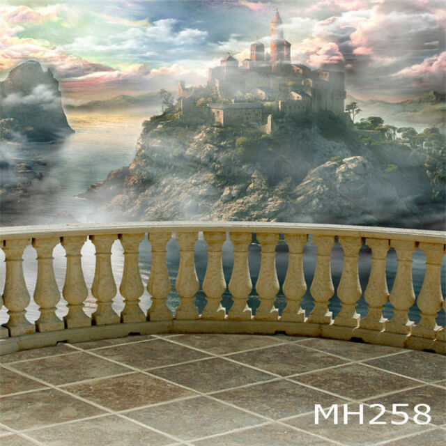 10X10FT Fairy Tale Castle Backdrop Vinyl Studio Photography Background MH258