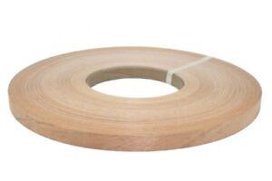 """Red Oak Pre Glued 5//8""""x50' wood Veneer Edgebanding"""