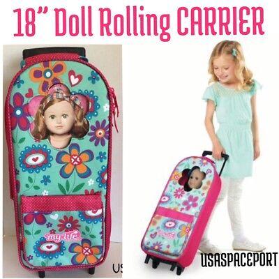 "Doll Baby Travel Backpack Shoulder Strap for 18/"" Lovely Girl Carrier Accessory"