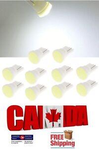 10pcs-COB-Ceramic-White-6000k-LED-T10-194168-912-Car-Map-Dome-License-Light-Bulb