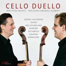 Jens Peter/Schmidt, Wolfgang Maintz-violoncello duello CD NUOVO Various