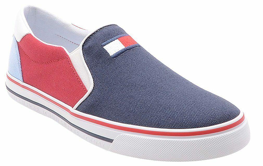 Tommy Hilfiger Womens Oaklyn Canvas Sneaker