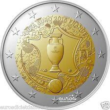 Pièce 2 euros FRANCE 2016 - Coupe de l'UEFA EURO 2016 - UNC - Série Football