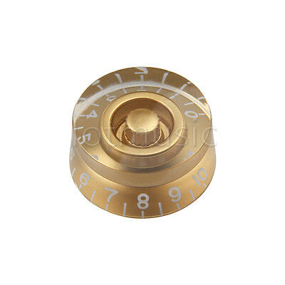 10pcs Speed Gold Control Knobs for guitar replacement Hotsell