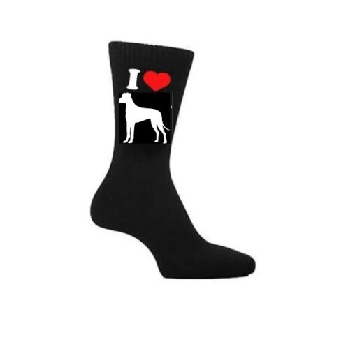 i danesi cani proprietari Calzini Novità Regalo I Love GREAT Dane Cane Calzini