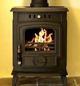 Hamco Glenbarrow Cast Iron Multi Fuel Wood Burning Glass