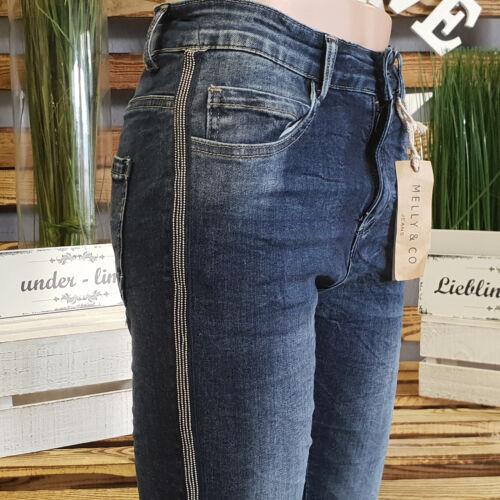 Blue Nieten Italy Mc Co Top Röhre Jeans Streifen Mellyamp; style 7088 Denim uPkiOZTX
