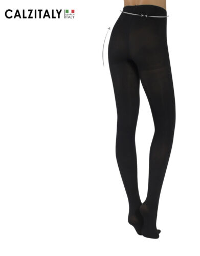 Opaque Winter Control Body Tights 3D Shaping Pantyhose Made in Italy 100 DEN