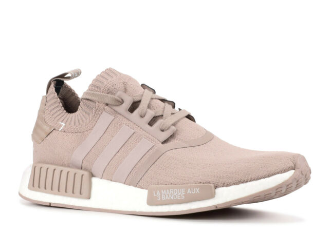 save off f03fd fa542 adidas NMD R1 PK Primeknit Vapour Grey Tan Beige S81848 10.5