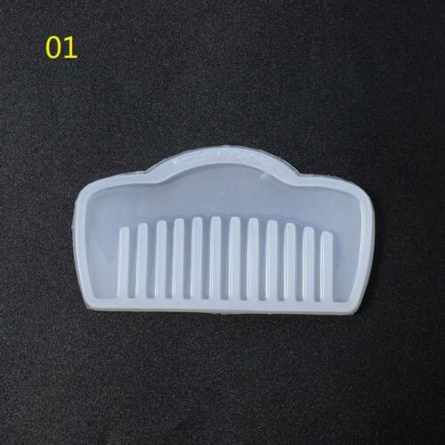 3D Transparent Silicone Comb Mold Epoxy Resin Molds For DIY Jewelry Making Tool@