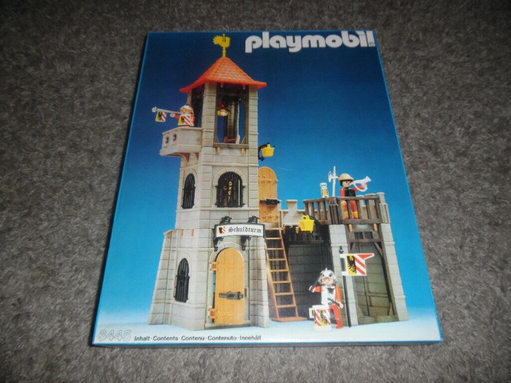 Playmobil Mittelter  Fachwarkhaus Schuldturm 3445 NEU OFP MIB