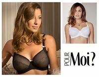 Pour Moi Signature Underwired Full Cup Bra 8702 Black or White * New Lingerie
