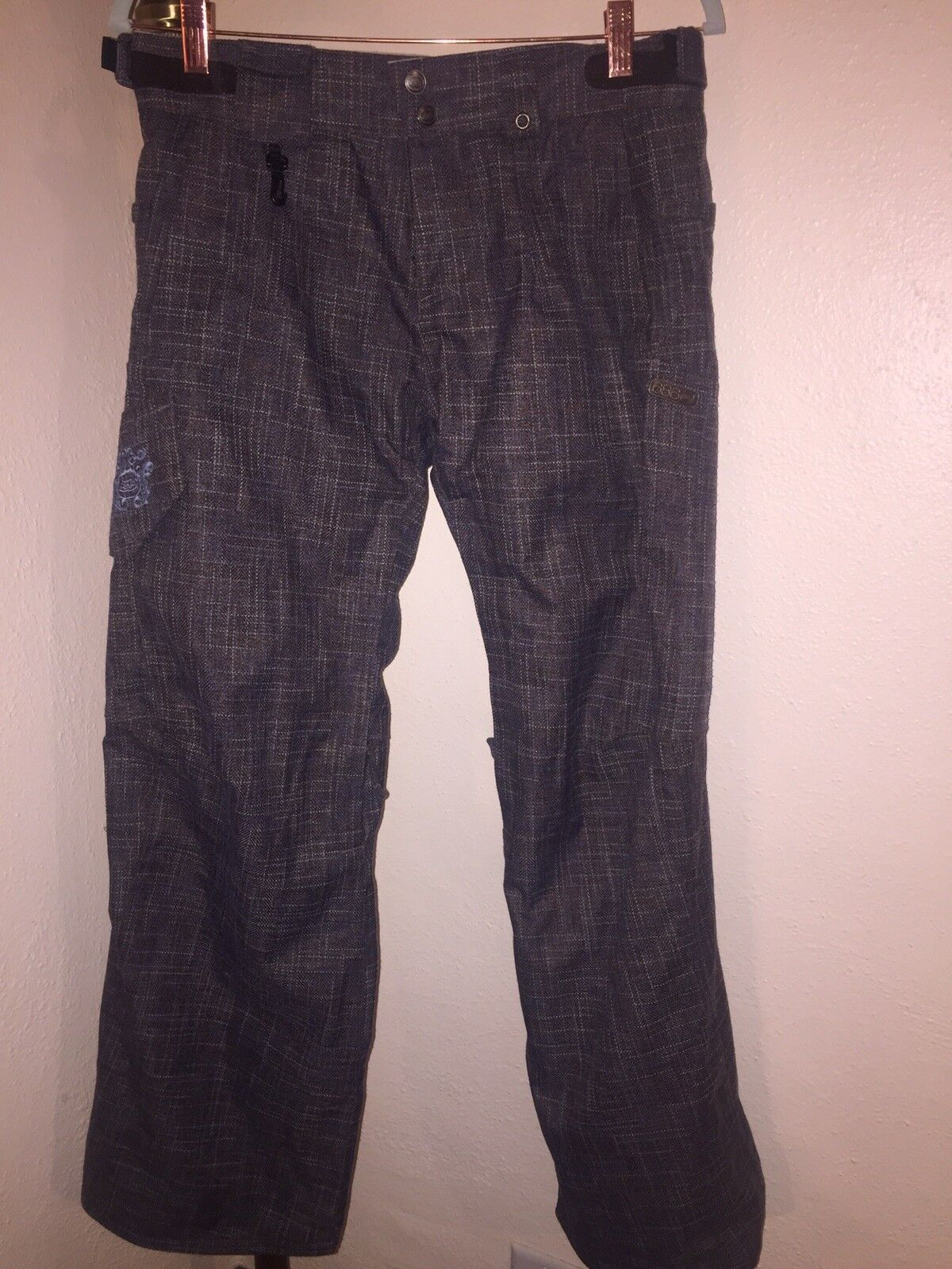 WOMEN'S SIX EIGHT SIX 686 SMARTY SNOWBOARD SKI PANTS SZ SMALL W OUT LINER