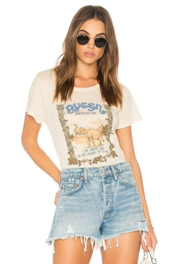 NWT Spell and The Gypsy Collective Desert Queen Tee - Macadamia - Sz XS