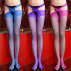 Lace-Sexy-Women-Sheer-Top-Thigh-Highs Stockings & Garter-Belt-Suspender