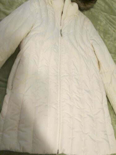 Hood Nwt Cole Faux White Varm Down Coat Kenneth Puffer Reaction Jacket Hood M Fur 0qqfO