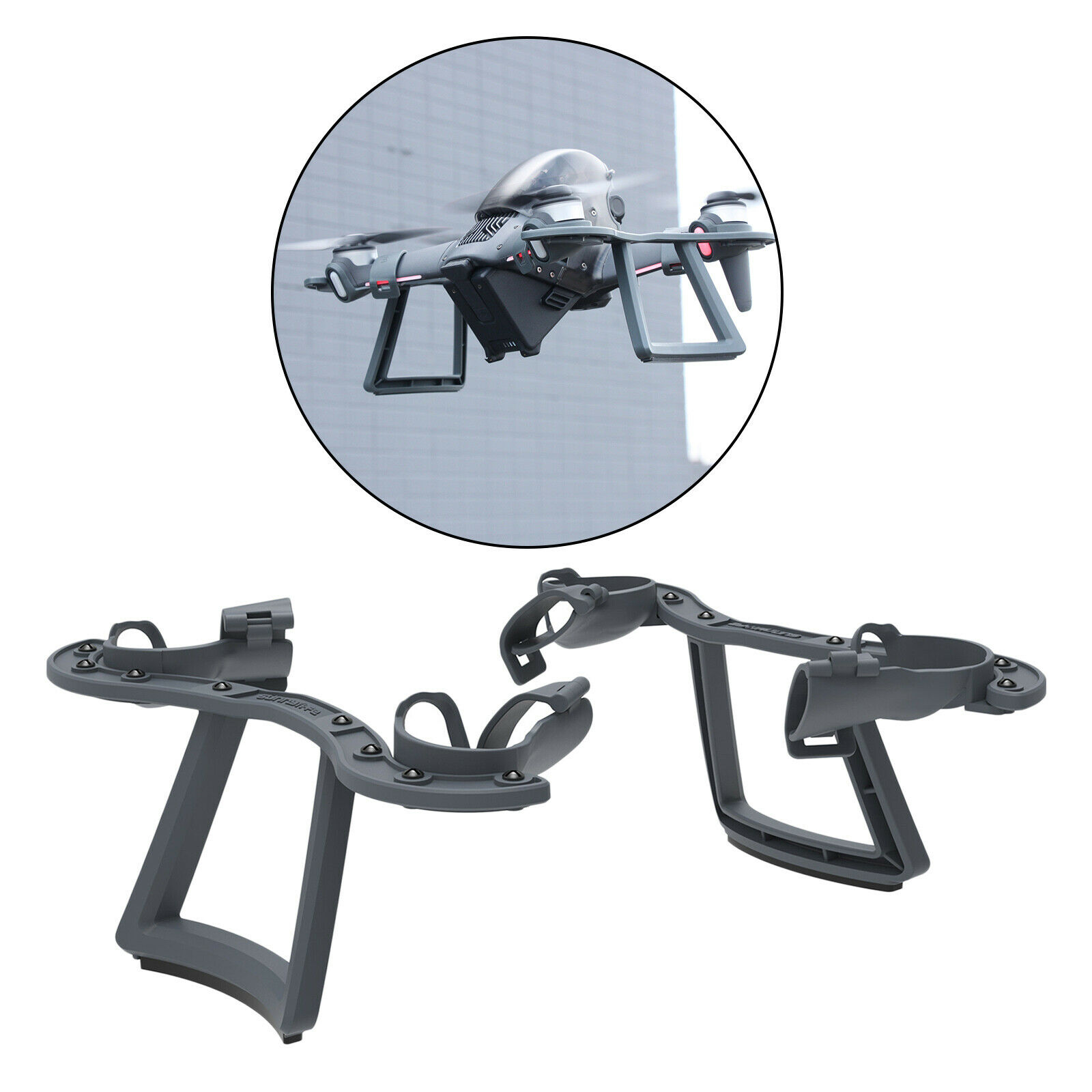 Heightening Tripod for DJI FPV Leg Extended Drone Protective Accessories