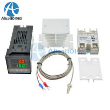 Rex C100 Digital Thermostat Temperature Controller Ssr Output K Thermocouple