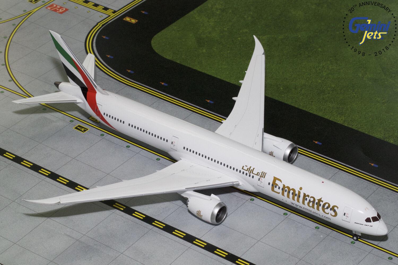 los últimos modelos Emirates Boeing 787-10 Gemini Jets Jets Jets G2UAE740 escala 1 200  producto de calidad