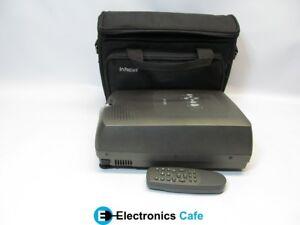 InFocus-LP290-400-1-1-100-Lumens-DLP-Video-Projector-w-Lamp