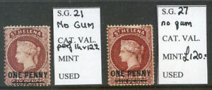 St-St-Helena-1864-60-SG-21-amp-27-mint-no-gum-catalogued-205-00-2019-06-07-02