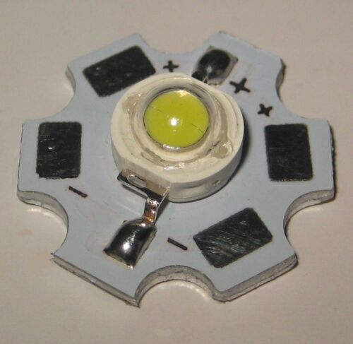1W Genesis Photonics LED Grow Aquarium Lights PCB Heat Sink White Red Blue Chips