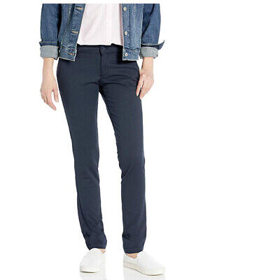 Dickies Womens Mid-Rise Skinny Stretch Twill Pant