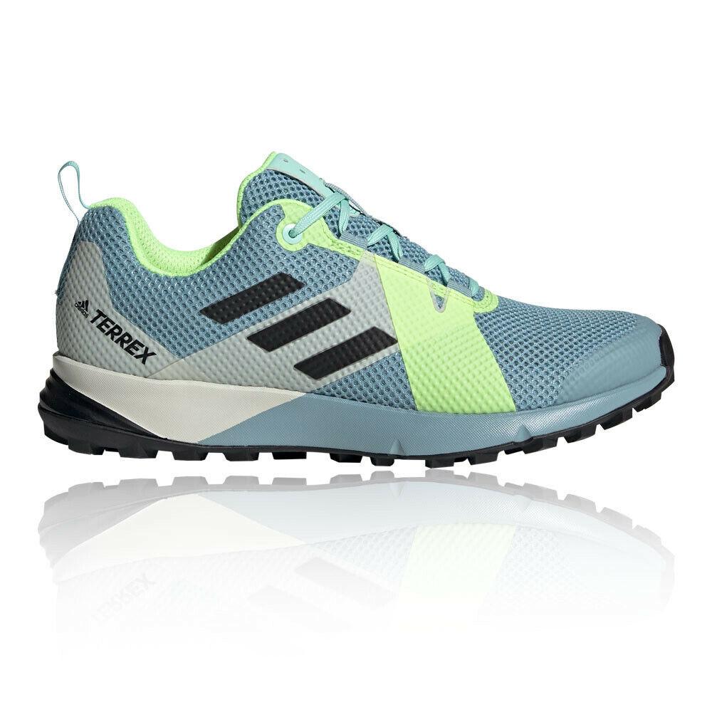 Adidas Damen Terrex Two Outdoorschuhe Laufschuhe Turnschuhe Blau Sport Trekking