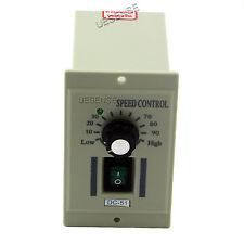 AC 110V Rotary Knob Voltage Speed Controller DC Motor Variable DC0-90V