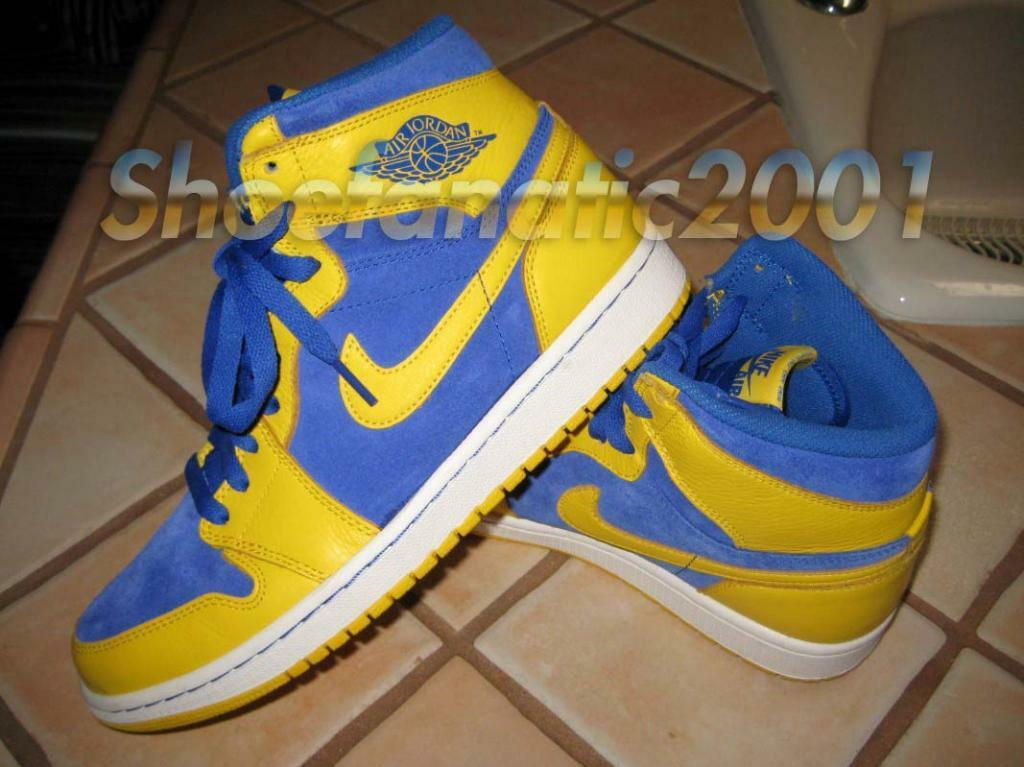 Nike air jordan retrò 1 og alto della razza suprema royal ombra mais sb