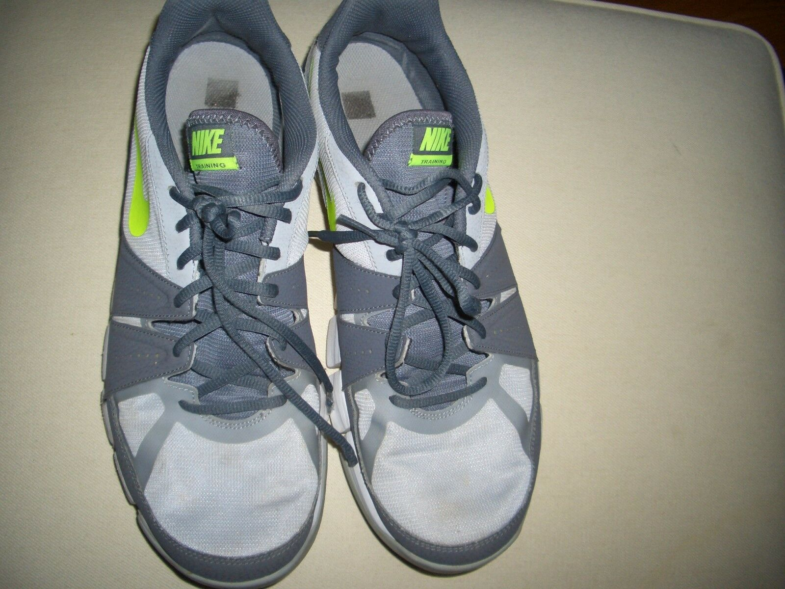 e2d7cfa3ed08 Nike Training 684701-013 Men Gray Lime Green Sneaker SZ SZ SZ 13 052c80