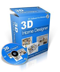 Home Designer 3D Interior Design Software For Microsoft Windows On ...