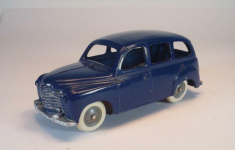 Cij 1 43 nº 3 42 renault Prairie 1950 lighter azul chasis rivete    rare