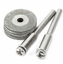 10+2 Rotary Tool Accessory Fits Dremel Craftsman Diamond Cut Off Wheel Disc