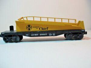 Lionel-ATSF-26677-Santa-Fe-The-Chief-Barrel-Car-2010
