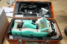 Nikon Dtm 520 Total Station Surveying Equipment With Case