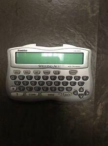 Franklin Spelling Ace with Thesaurus Model: SA-206S