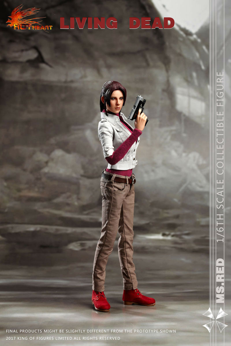 Pre-order 1/6 Scale Hot Hot Hot Heart FD004 Living Dead Zombie Killer MS ROT 39be03