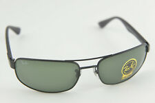 0cf0a4bdb4 item 5 Ray-Ban RB 3445 006 11 61-17 13 aviator sunglasses Matte Black G-15  green -Ray-Ban RB 3445 006 11 61-17 13 aviator sunglasses Matte Black G-15  green