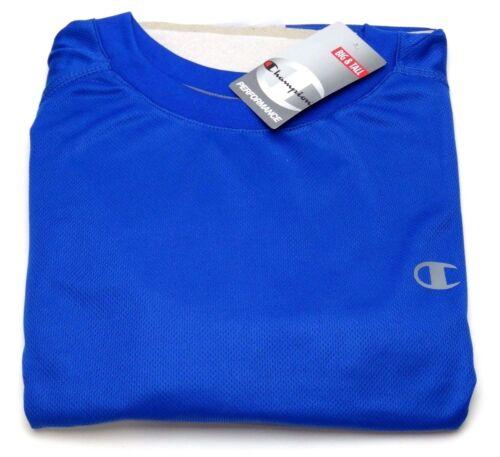 Champion Performance Big and Tall Vapor Birdseye Crew Neck Solid color T-Shirt