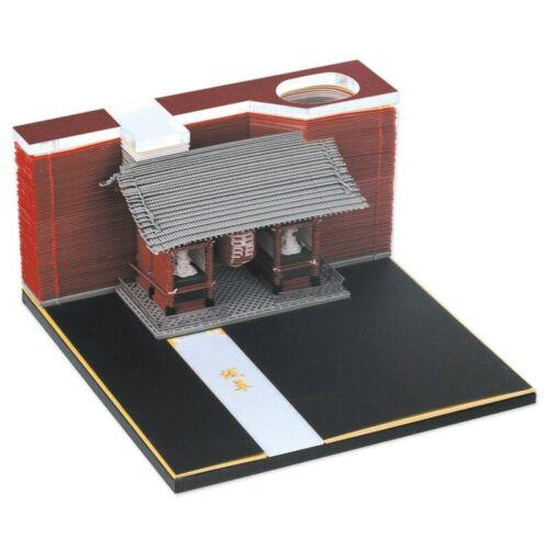 Omoshiroi Block 3D Memo Pads Novelty Famious Movie Building Block 3D Note Pad